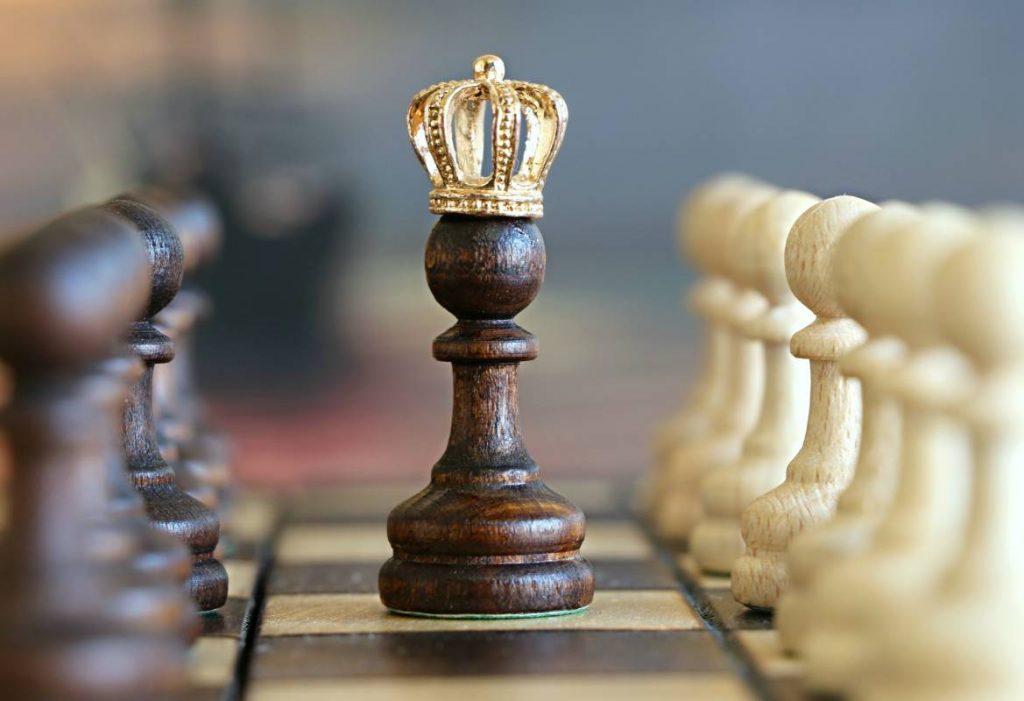 pionek na szachownicy